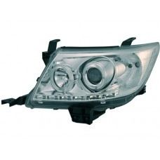 Hilux 11 Head Lamp Projector Chrome W/CCFL + DRL