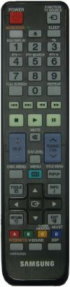 AH59-02303A SAMSUNG BLU-RAY HOME THEATER REMOTE CONTROL SAMSUNG HOME THEATER REMOTE CONTROL