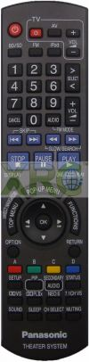 N2QAKB000062 PANASONIC HOME THEATER REMOTE CONTROL PANASONIC HOME THEATER REMOTE CONTROL