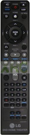 AKB37026874 LG HOME THEATER REMOTE CONTROL LG HOME THEATER REMOTE CONTROL