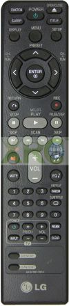 AKB70877914 LG HOME THEATER REMOTE CONTROL LG HOME THEATER REMOTE CONTROL