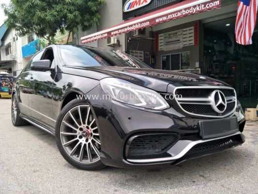 MERCEDES BENZ W212 CONVERT TO FACELIFT 2014 E63 LOOK BODYKIT
