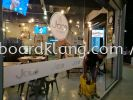Jaco kitchen cafa frosted die cut sticker at bukit tinggi klang Frosted Sticker
