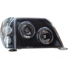 FJ90-00 Head Lamp Crystal W/Rim