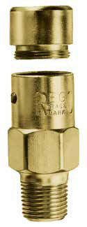 Rego 3127 Series External Hydrostatic Relief Valves
