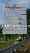 Project Construction Sign At Sugai Buloh  Construction Board