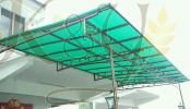 Wrought Iron Polycarbonate Skylight Skylight