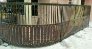 Wrought Iron  Mix Aluminium Fencing Fencing