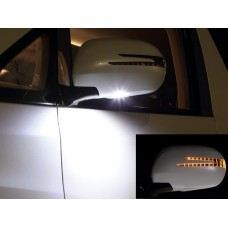 FJ120 Door Mirror Cover W/Light (arrow type) + Manner Light