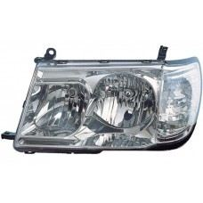 FJ100 98 Head Lamp Crystal Chrome