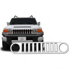 FJ Cruiser Front Grille Chrome Hummer Type