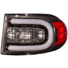 FJ Cuiser Rear Lamp Crystal LED Black