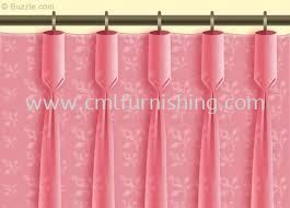 goblet-pleat-curtain-pink