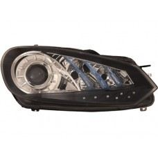MK6 Head Lamp Projector W/LED
