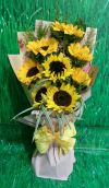 Sunflower Bouquet (HB-449) SUNFLOWER BOUQUET Hand Bouquet