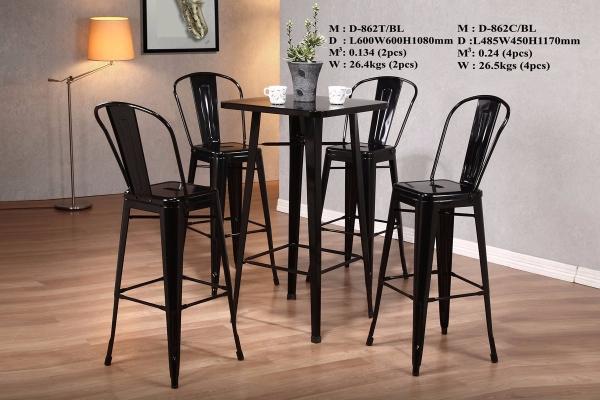 Bar stool & table