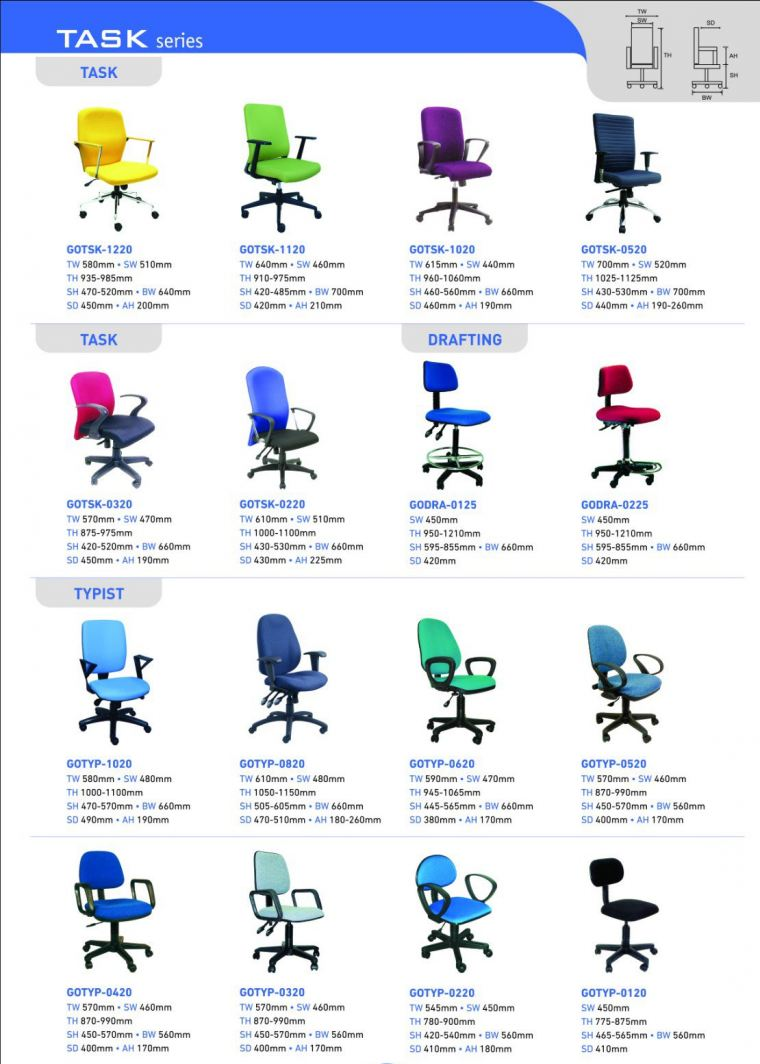 TASK Chair TASK Chair Office Chairs