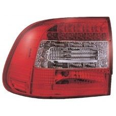 Cayenne'03 Rear Lamp Crystal LED Red/Clear