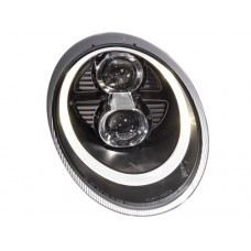 Carrera 04 Head Lamp Dual Projector W/DRL + Motor (Xenon OR Halogen USE)