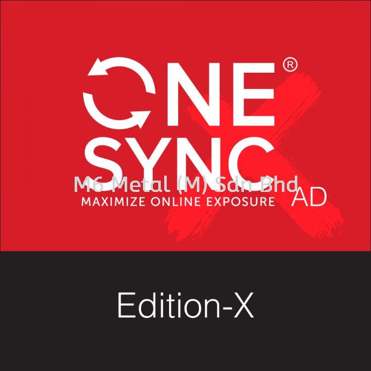 Online Ads - ONESYNC Edition-X (12 Month)
