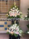 FW412 RM280 Funeral Flowers Stand Condolence Flower