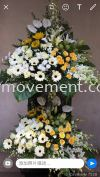 FW411 Funeral Flowers Stand Condolence Flower