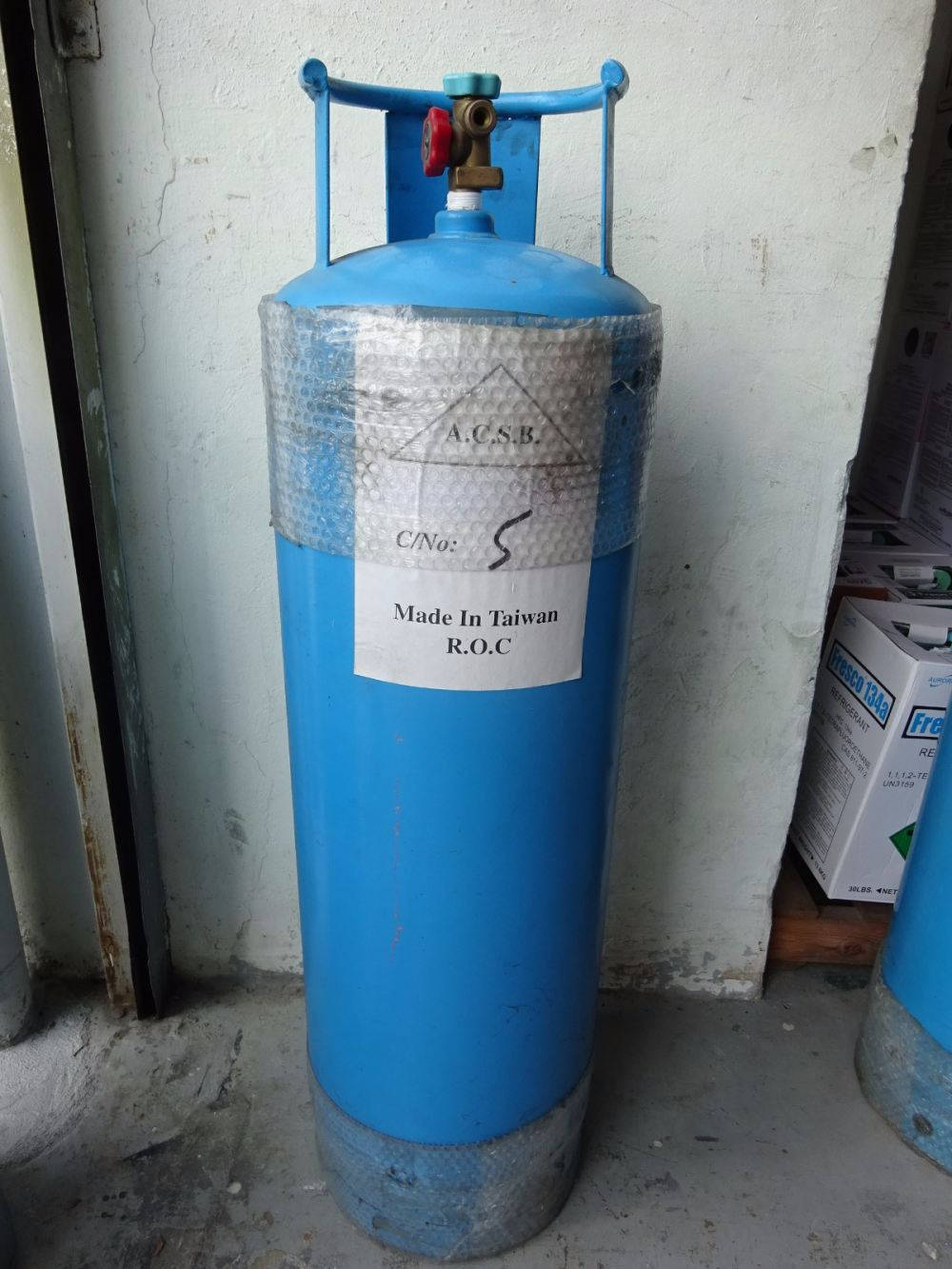 REFILLABLE CYLINDER (NEW) (100KG) (MADE IN TAIWAN) Taiwan Refrigerant Recovery and Recycling Equipment Subang Jaya, Selangor, Kuala Lumpur (KL), Malaysia. Supplier, Supplies, Manufacturer, Wholesaler | Culmi Air-Cond & Refrigeration Parts Supply Sdn Bhd