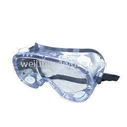 AIM SAFETY GOGGLE UNCOATED CLEAR LENS 149UC