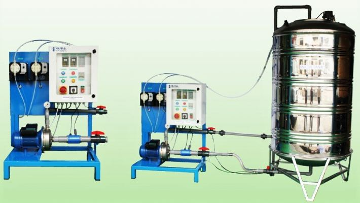 HI5000M Automatic Fertigation System Waterproof IP55