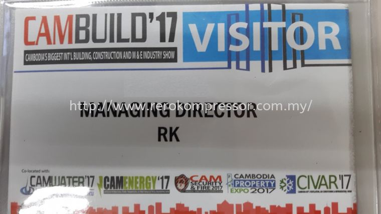 VISIT TO CAMBODIA INTERNATIONAL VENTILATION, AIR CONDITIONING & REFRIGERATION EXHIBITION