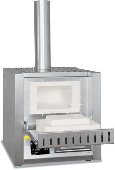 Ashing Furnaces with Flap Door or Lift Door (Nabertherm LV 3/11 - LVT 15/11) Nabertherm Furnace Laboratory Equipment Facility