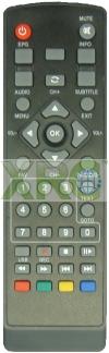 MY TV T2 REMOTE CONTROL DVB-T2 ASTRO REMOTE CONTROL