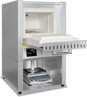 Weighing Furnace incl. Scale and Software for Determination of Combustion Loss (Nabetherm) Nabertherm Furnace Laboratory Equipment Facility
