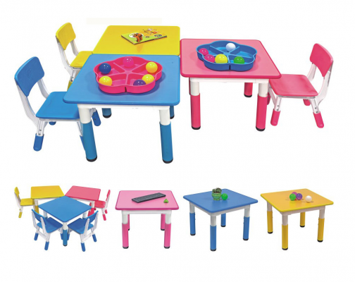 K2331 Candy Square Plastic Table (Adjustable)