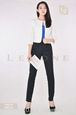 767724 PLUS SIZE STRAIGHT LONG PANTS【EVERYONE MUST HAVE RM88 NETT】
