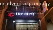 Infinite Wines Spirits - Bayu Tinggi Klang Channel LED 3D Signage