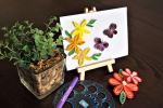 Quilled Paper Art Workshop Adult & Kids Art Class Arts and Crafts