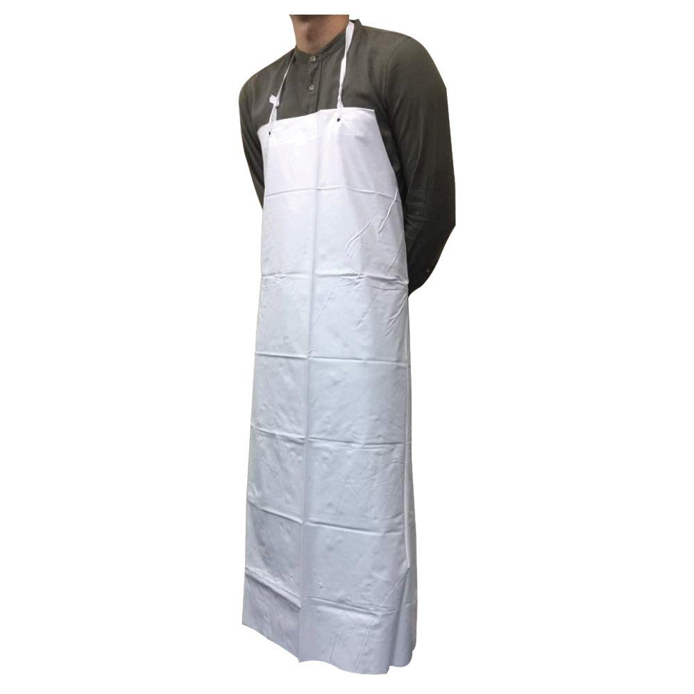White Vinyl Apron (B0703) Others Gloves, Manufacturer, Supplier, Supply  ~ Bergamot Sdn Bhd