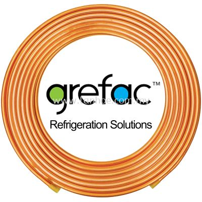 "Grefac Korea Copper Tubes - 3/8"" x 0.71mm (22g) x 15m"