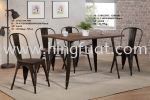 11002DTL 1280BR-10112 Table and Chair