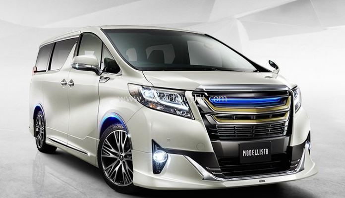 TOYOTA ALPHARD 30 2015 & ABOVE MODELLISTA AEROKIT FOR NORMAL BODY