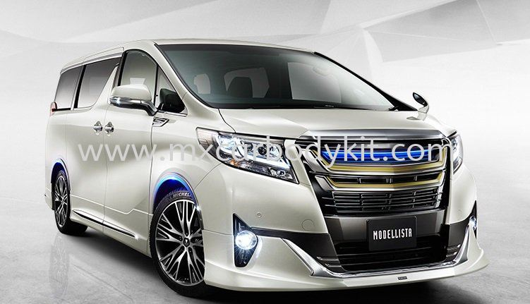 TOYOTA ALPHARD 30 2015 & ABOVE MODELLISTA AEROKIT FOR NORMAL BODY  ALPHARD 30 2015  TOYOTA