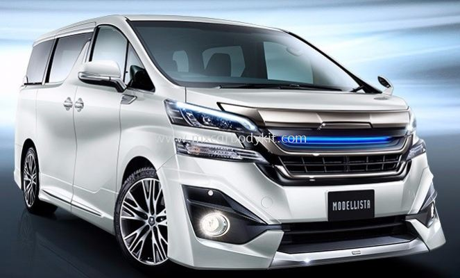 TOYOTA VELLFIRE 2015 & ABOVE MODELLISTA AEROKIT FOR NORMAL BODY