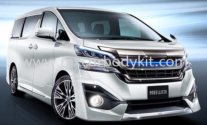 TOYOTA VELLFIRE 2015 & ABOVE MODELLISTA AEROKIT FOR NORMAL BODY VELLFIRE 30 2015 TOYOTA