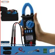 Digital Clamp Meter With Temperature Measurement