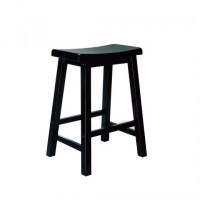 Square Wooden Stool