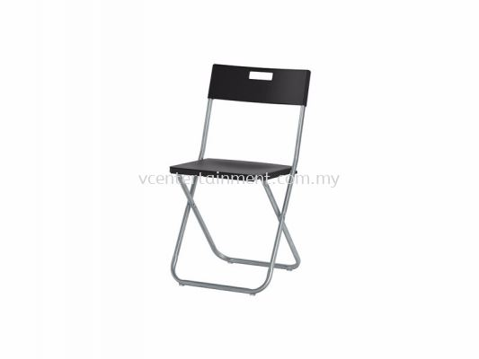 Foldable Chair Type A Black