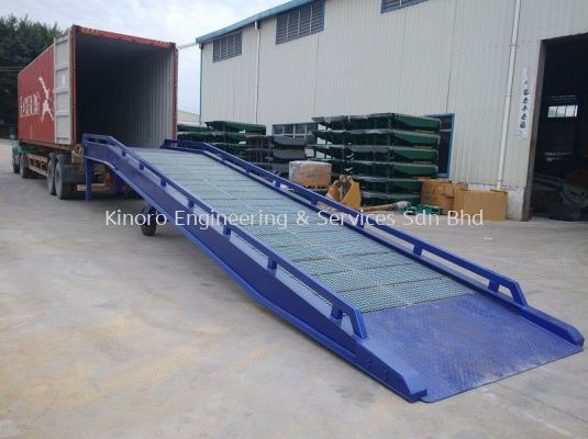 Customize Mobile Steel Ramp / Container Ramp