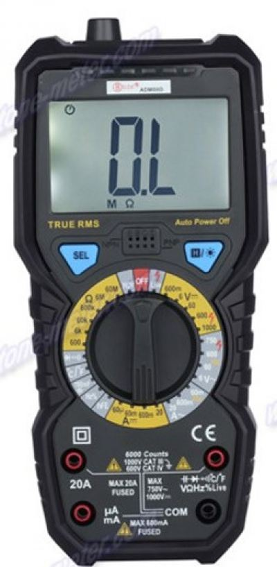True RMS & Temperature Measurement Digital Multimeter