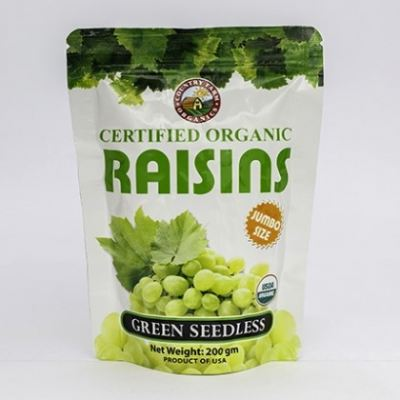 CF-JUMBO RAISIN-GREEN-200G/PACK